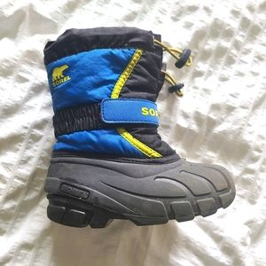 Boys 10 Sorel Winter Boots Blue